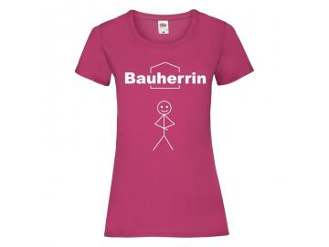 Bauherrin T Shirt Lady