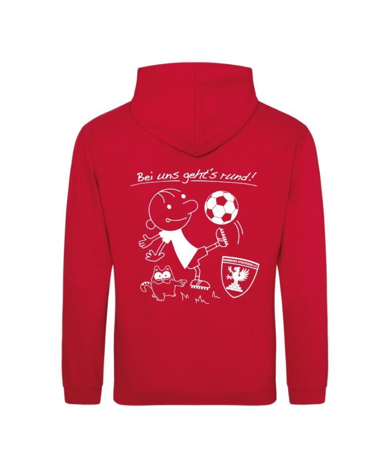 Hooded Sweater (BEI UNS GEHTS RUND!)