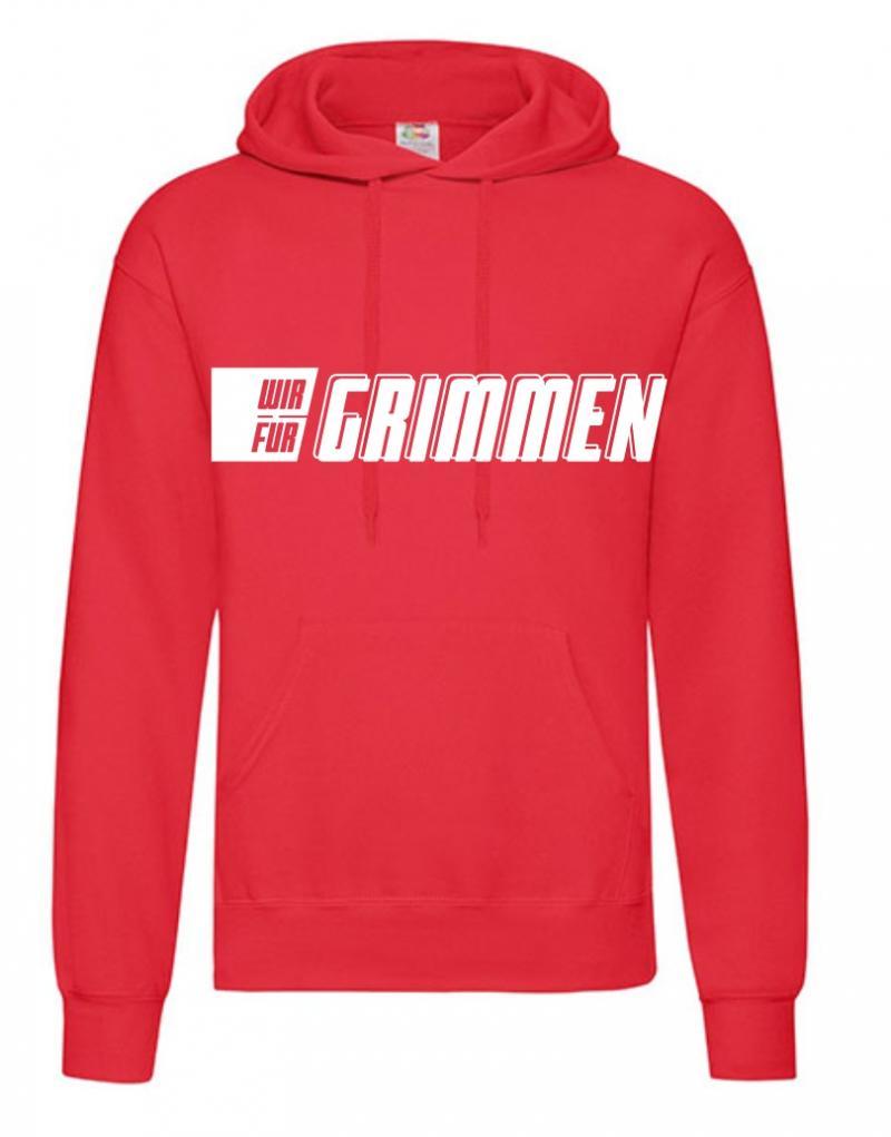 Hooded Sweater KIDS Schriftzug WIR FÜR GRIMMEN